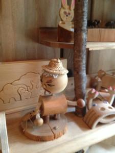 木ばらし工房作品